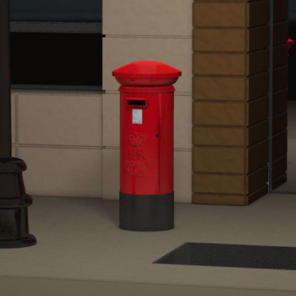 Picture of British Post Box Poser Format