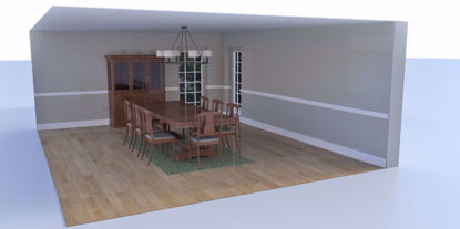 Picture of Formal Dining Room Environment Poser Format