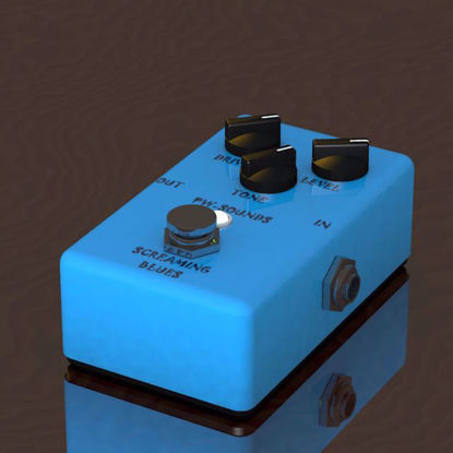 Picture of Guitar Pedal Model Poser Format