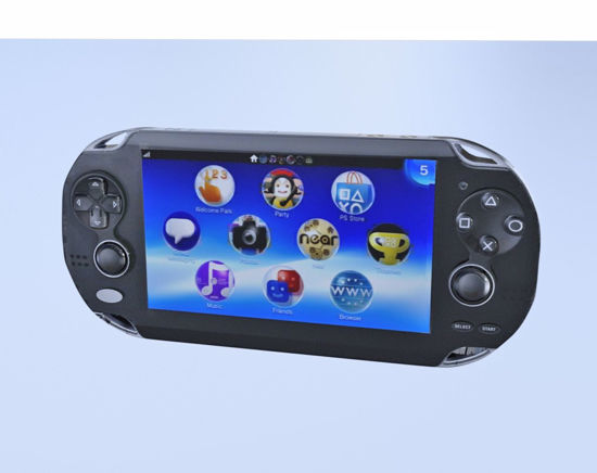 Picture of Handheld Video Game Console Model Poser Format