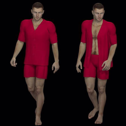Picture of Pajama Set for DAZ Michael 4
