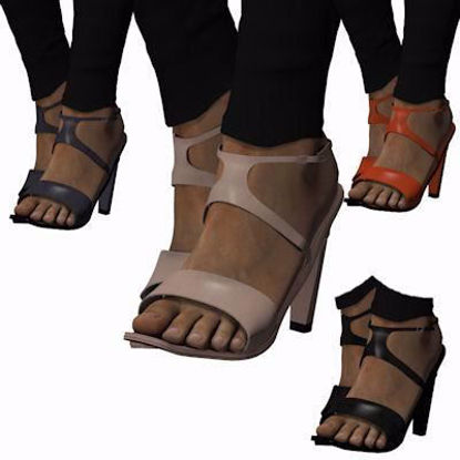 Picture of Square Toe Sandals for Hivewire3D Dawn