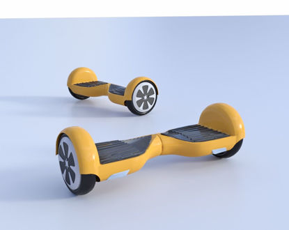 Picture of Swegway Hoverboard Model Poser Format